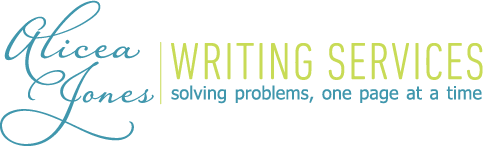 Alicea Jones Writing Services
